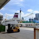 おがさわら丸の出港(The departure from a port of the ogasawara-maru)-003