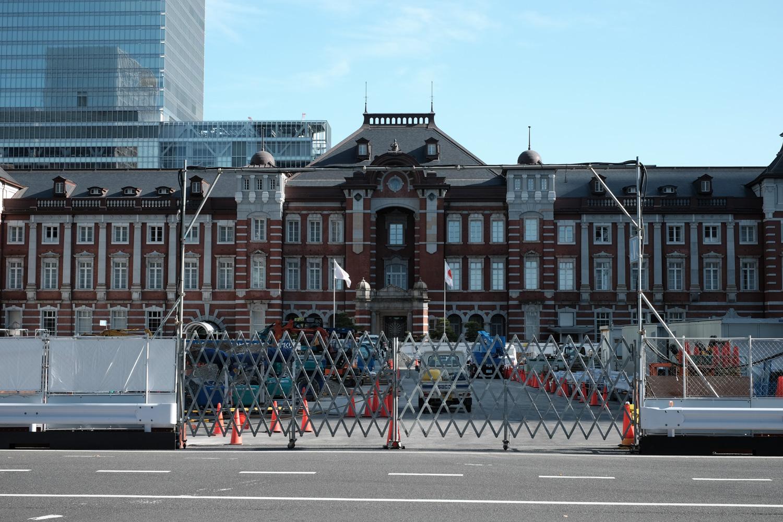 工事の終らない東京駅