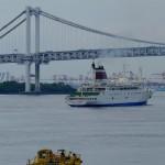 おがさわら丸の出港(The departure from a port of the ogasawara-maru)-017