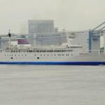 おがさわら丸の出港(The departure from a port of the ogasawara-maru)-016
