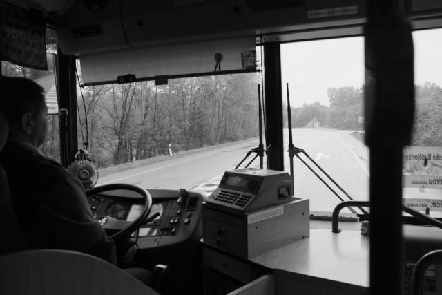 バスに揺られ、チェスケー・ブジェヨヴィツェへ