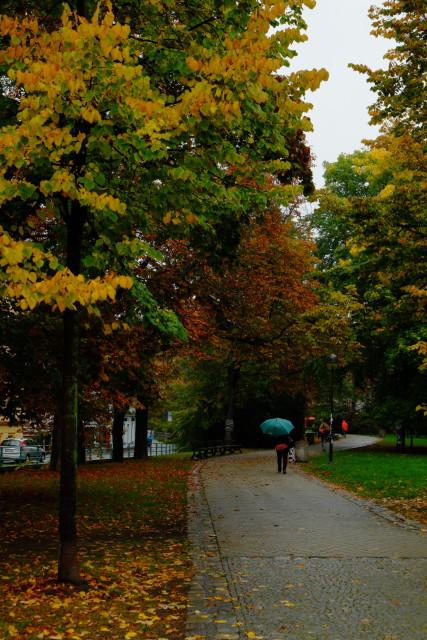 旧市街を囲む公園