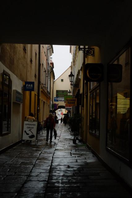 旧市街の路地