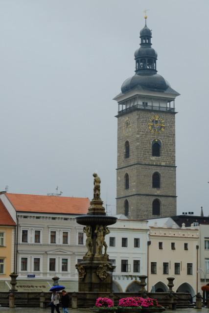 聖ミクラーシュ教会の黒塔