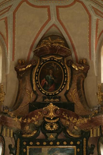 聖ミクラーシュ大聖堂、祭壇の絵