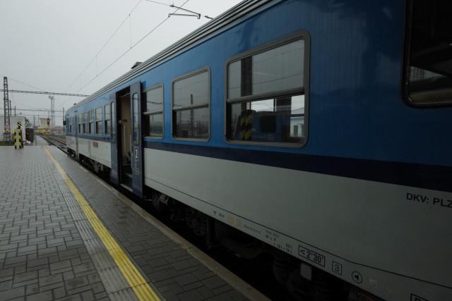 この客車は、動力を持っており、日本で言うところの気動車。