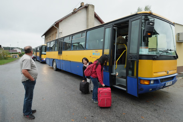 バスによる代替輸送