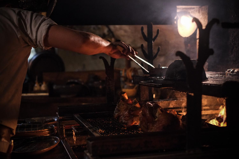 シャトラヴスカー(Šatlavská)と言う店で、夕食を食べる