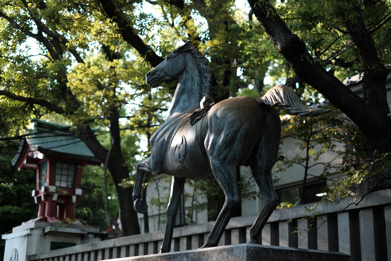 富岡八幡宮 神馬像