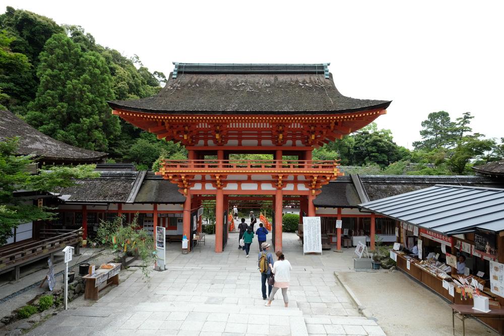上賀茂神社 桜門
