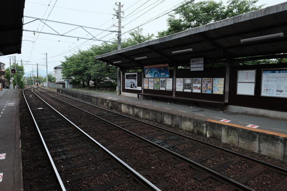 京福電気鉄道北野線 龍安寺駅