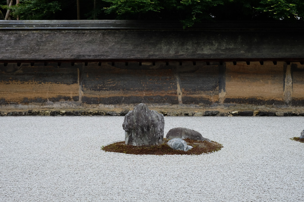 龍安寺 方丈庭園
