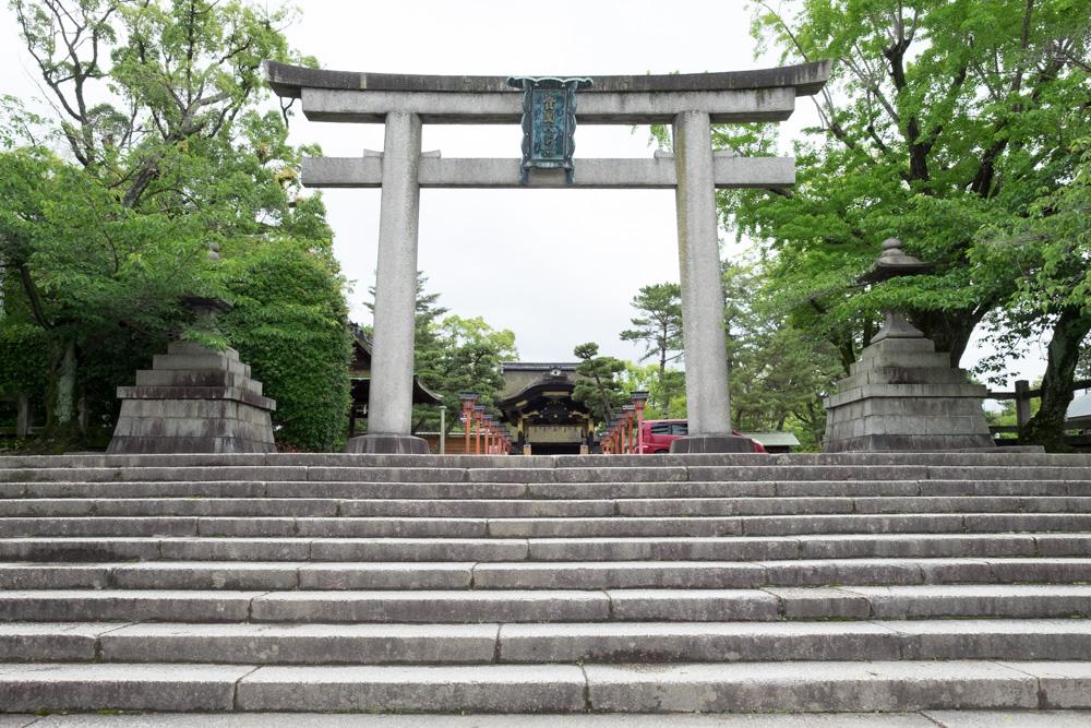 豊国神社 鳥居