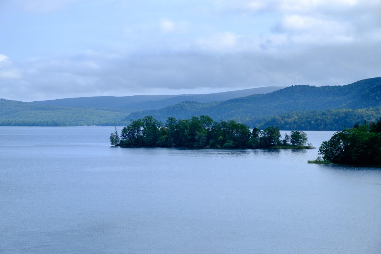 阿寒湖 小島